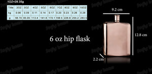 Rose Gold Flask