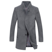 Load image into Gallery viewer, Men's Wool Blend Coat