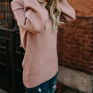 Women's Bow Tie Backless Sweater