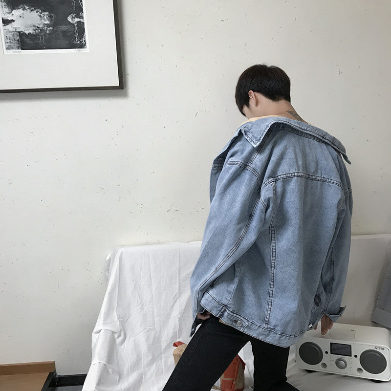 Men's Oversized Denim Jacket