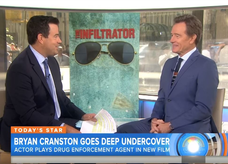 Bryan Cranston on The Today Show