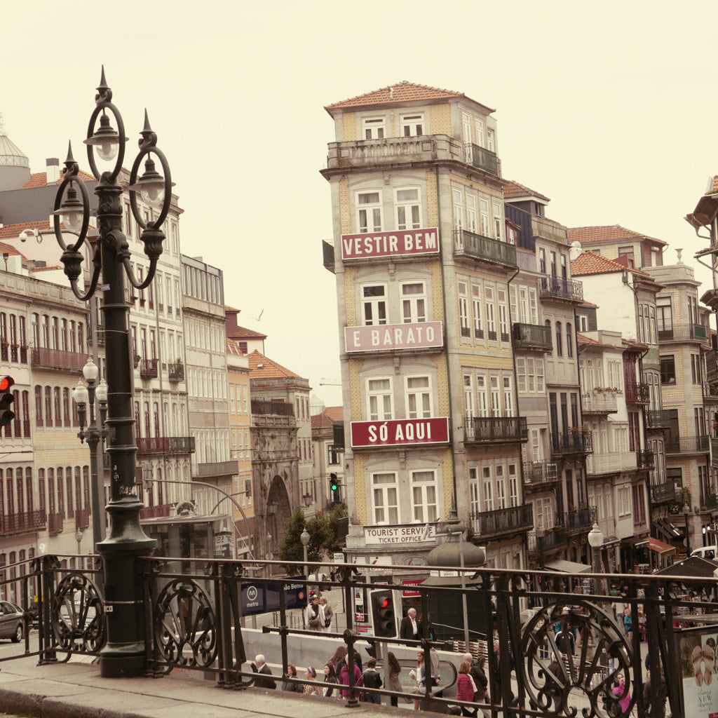 View of Porto From the Train Station