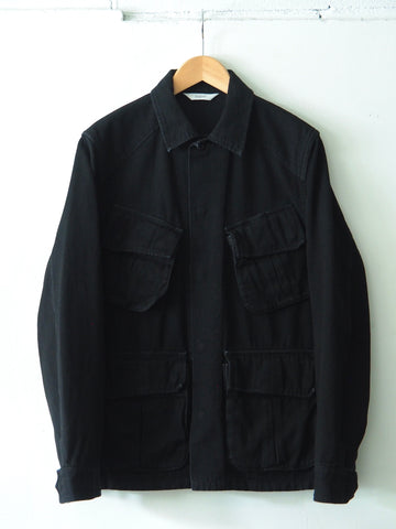 FUJITO - Jungle Fatigue Jacket in Cotton - Black
