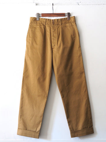 FUJITO - Wide Slacks in Khaki