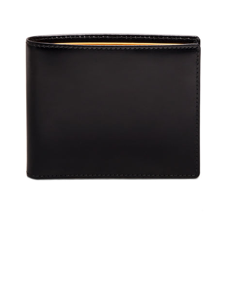 ETTINGER - Bridle Hide Billfold Wallet with 6 C/C in Black