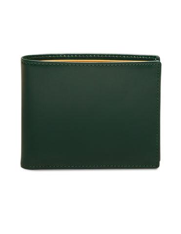 ETTINGER - Bridle Hide Billfold Wallet with 6 C/C in Green