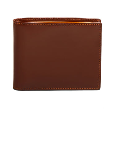 ETTINGER - Bridle Hide Billfold Wallet with 6 C/C in Havana