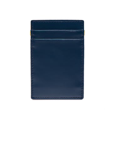 ETTINGER - Bridle Hide Magic Wallet in Petrol Blue