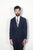 BROOKLYN TAILORS - Full Canvas Tailored Jacket - Classic Navy Super 110s