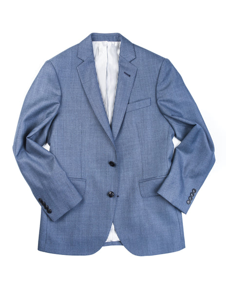 BROOKLYN TAILORS - BKT50 Jacket in Blue Birdseye