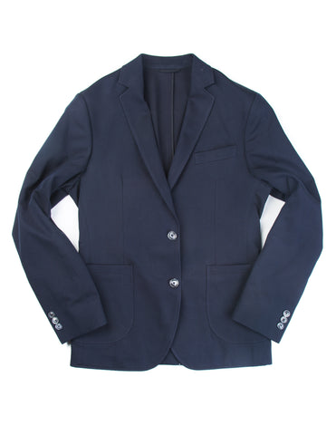 BROOKLYN TAILORS - BKT35 Unstructured Jacket in Navy Cotton Twill