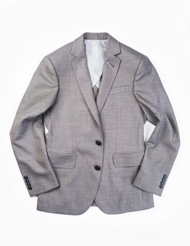 BROOKLYN TAILORS - BKT50 Jacket in Antique Grey Hopsack