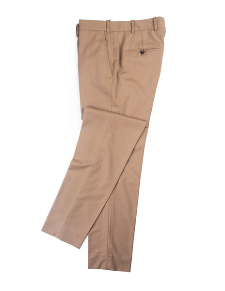 BROOKLYN TAILORS - BKT50 Tailored Trousers in Light Brown Herringbone