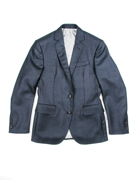 BROOKLYN TAILORS - BKT50 Jacket in Navy Birdseye Wool