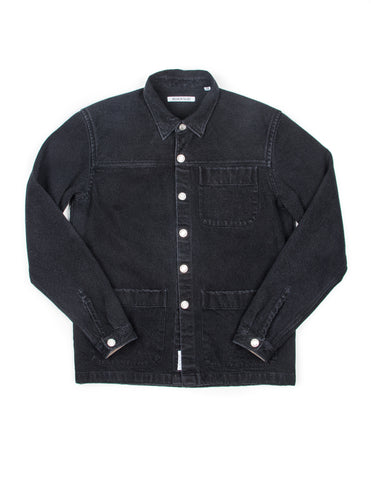 BROOKLYN TAILORS - BKT15 Shirt Jacket in Black Denim