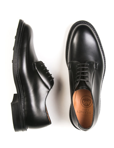"JOSEPH CHEANEY - ""Deal II"" Derby in Black Calf"