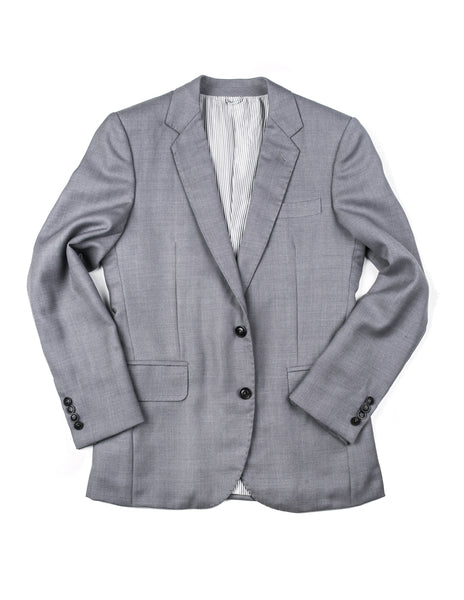 FINAL SALE - BROOKLYN TAILORS - BKT50 Blazer in Steel Gray Hopsack