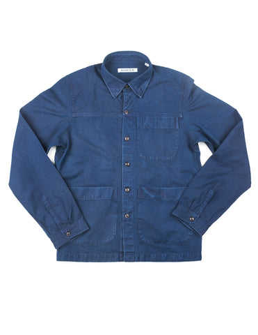 BROOKLYN TAILORS - BKT15 Shirt Jacket in Indigo Cotton