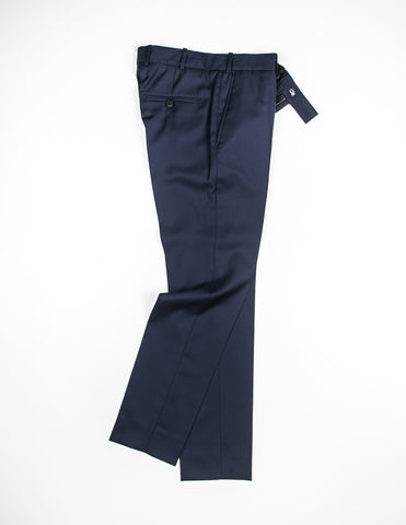BROOKLYN TAILORS - Tailored Trouser - Classic Navy Super 110s