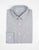 BROOKLYN TAILORS - Mini Micro Grid Dress Shirt in White/Black