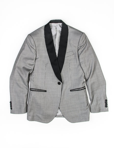 BROOKLYN TAILORS - BKT50 Dinner Jacket in Black and White Puppytooth