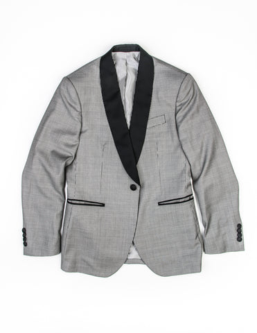 FINAL SALE - BROOKLYN TAILORS - BKT50 Dinner Jacket in Black and White Puppytooth