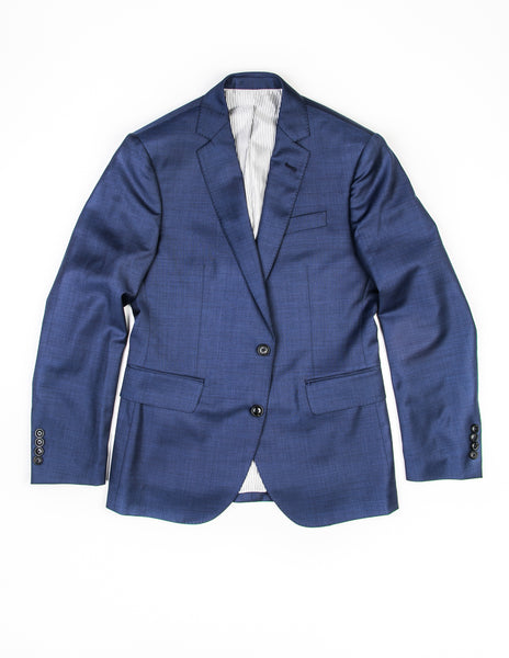 FINAL SALE: BROOKLYN TAILORS - BKT50 Blazer in Navy Sharkskin