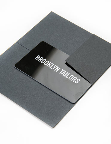 Brooklyn Tailors Gift Card
