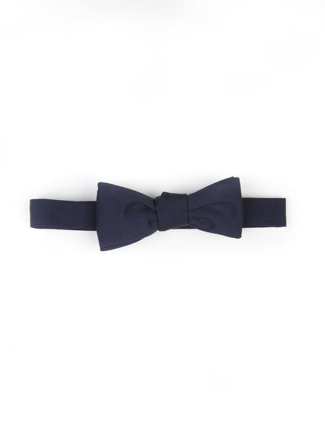 BROOKLYN TAILORS - Navy Wool/Mohair Bowtie