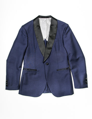 BROOKLYN TAILORS - BKT50 Dinner Jacket in Ink Blue