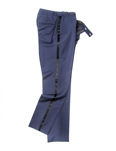 BROOKLYN TAILORS - BKT50 Tuxedo Trouser in Midnight