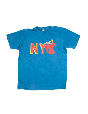 "VELVA SHEEN - ""NYC"" Tee in Blue"