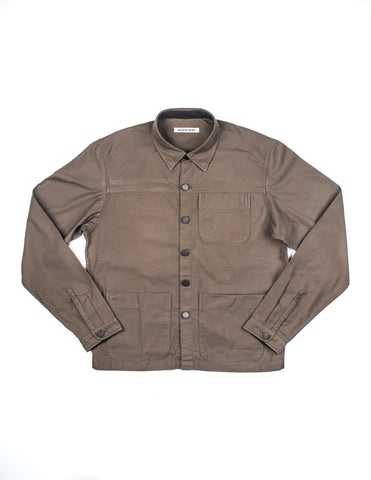 BROOKLYN TAILORS - BKT15 Shirt Jacket in Military Green