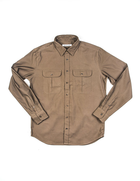 BROOKLYN TAILORS - BKT14 Uniform Shirt in Army Green