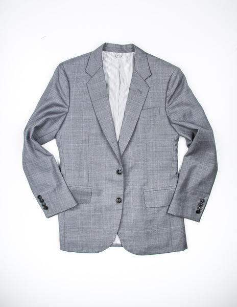 FINAL SALE - BROOKLYN TAILORS - BKT50 Suit in Grey Plaid