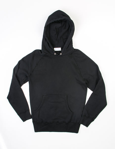 VELVA SHEEN - 8 oz Pullover Hoodie in Black