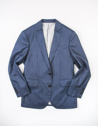 FINAL SALE: BROOKLYN TAILORS - BKT50 Jacket in Heathered Rustic Blue