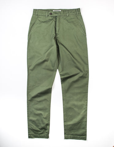 FINAL SALE: BROOKLYN TAILORS - BKT30 Slim-Fit Chino in Army Green