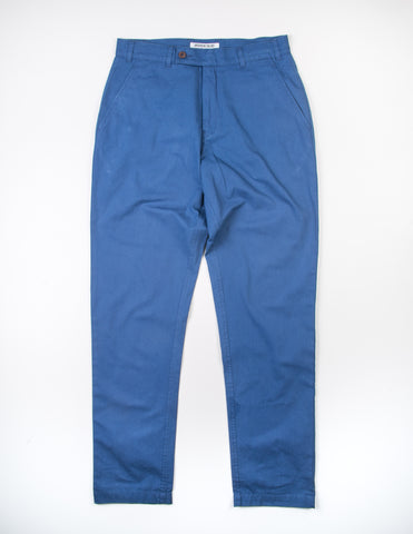 FINAL SALE - BROOKLYN TAILORS - BKT30 Slim-Fit Chino in Mediterranean Blue
