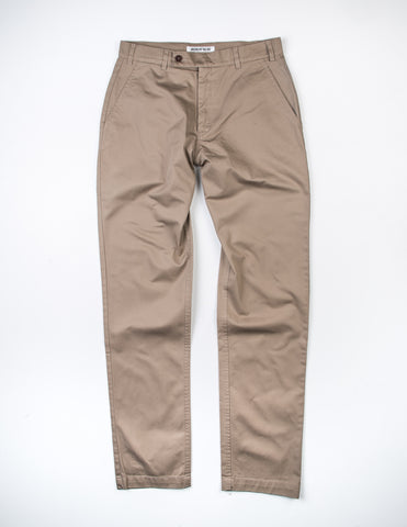 FINAL SALE: BROOKLYN TAILORS - BKT30 Slim-Fit Chino in Khaki