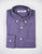 FINAL SALE - BROOKLYN TAILORS - BKT10 Sport Shirt in Purple Flannel