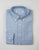 FINAL SALE - BROOKLYN TAILORS - BKT10 Sport Shirt in Light Blue Brushed Oxford