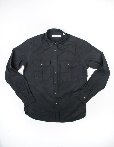 FINAL SALE: BROOKLYN TAILORS - BKT14 Uniform Shirt in Charcoal