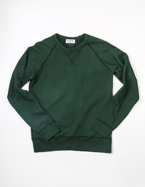 VELVA SHEEN - 10oz Raglan Sweatshirt in Green