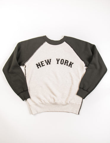 VELVA SHEEN - NYC Raglan Sweatshirt