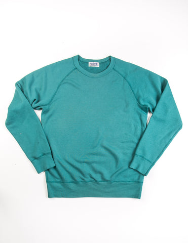 VELVA SHEEN - 10oz Raglan Sweatshirt in Teal