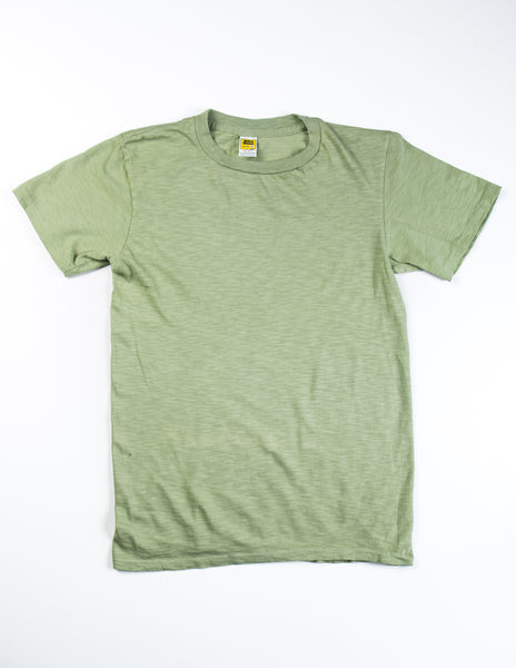 VELVA SHEEN - Garment-Dyed Tee in Apple Green
