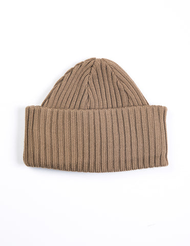 BATONER - Knit Cap in Camel Yellow