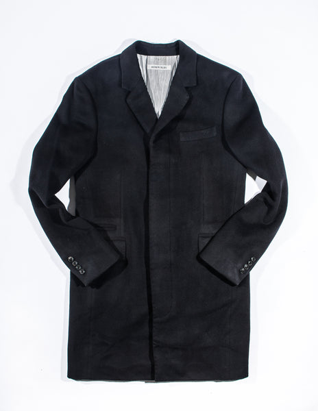 FINAL SALE: BROOKLYN TAILORS - BKT75 Topcoat in Black