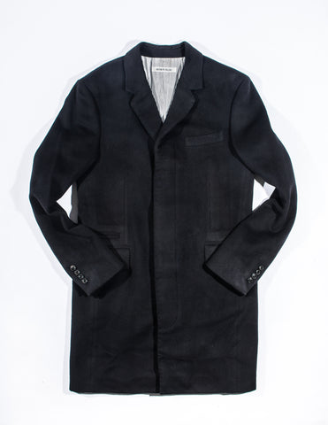 BROOKLYN TAILORS - BKT75 Topcoat in Black